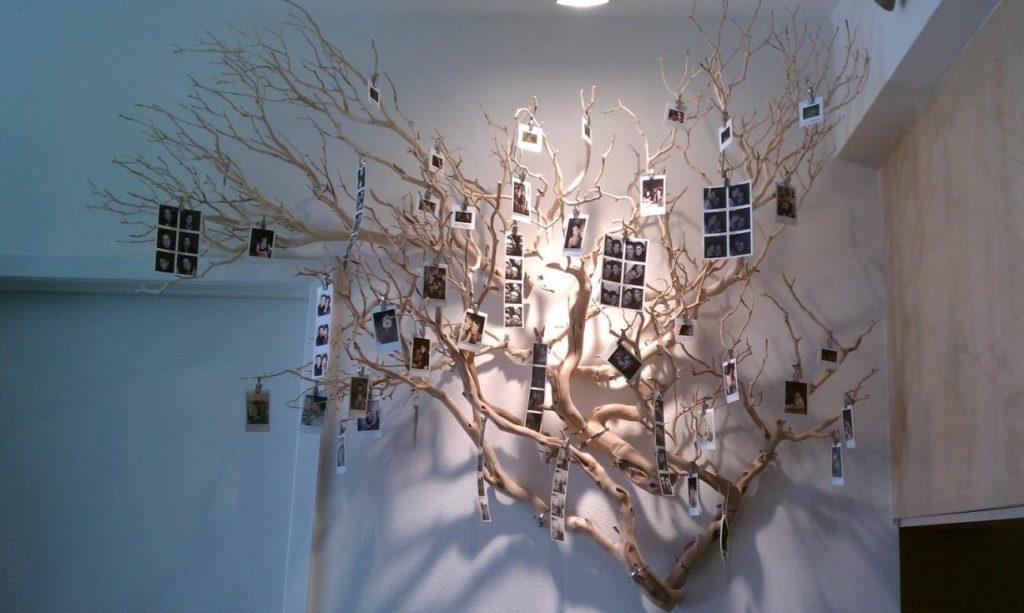 inspirasi pajangan pohon